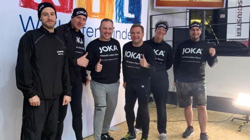 Raumausstattung Habig beim RTL-Spendenmarathon 2019 in Köln