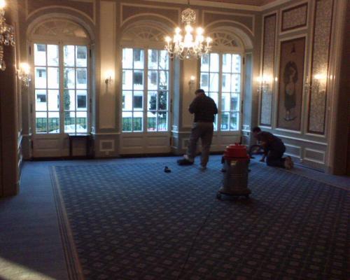Hotel Hessischer Hof Frankfurt Teppichboden