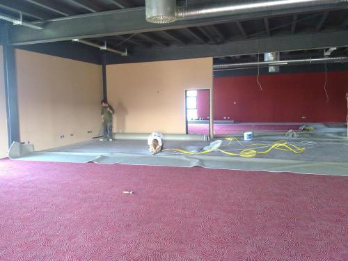Spielhalle Teppichboden 2