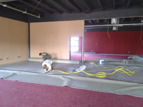 Spielhalle Teppichboden 3