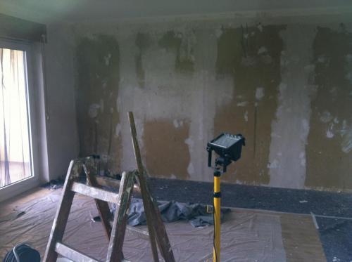 tapezierfertige Wandfläche für Hochwertige Tapeten